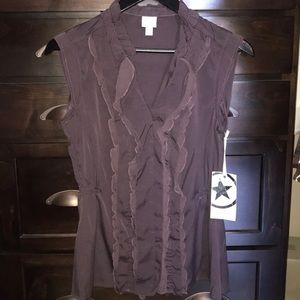 Converse blouse/top NWT Med